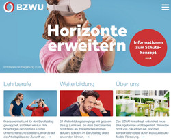 Website und Anzeigen BZWU