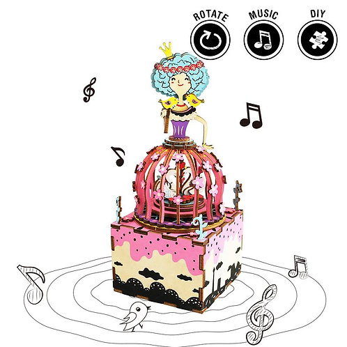 DIY Music Box - Princess