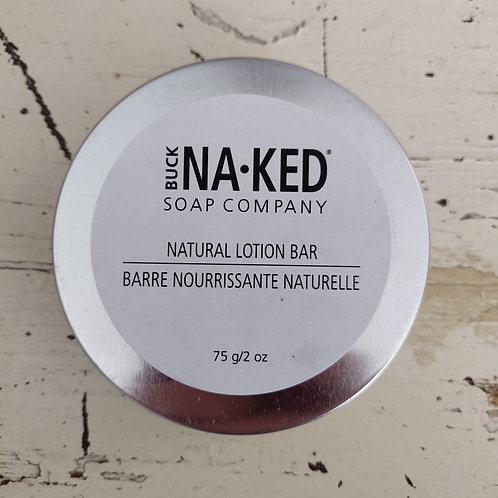 Natural Unscented body lotion bar