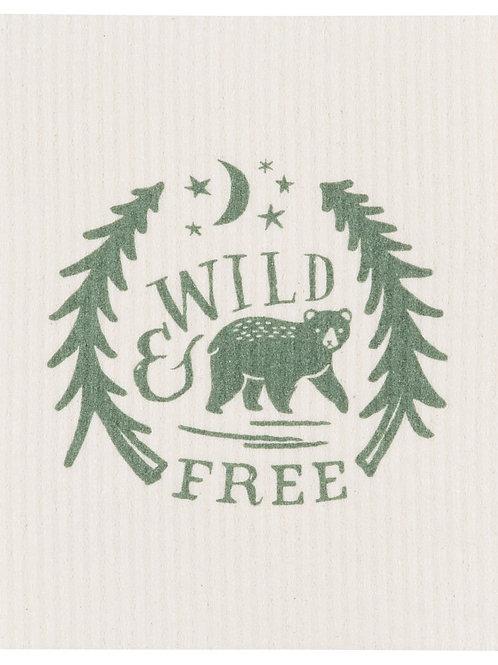 Wild & Free Swedish Dishcloth
