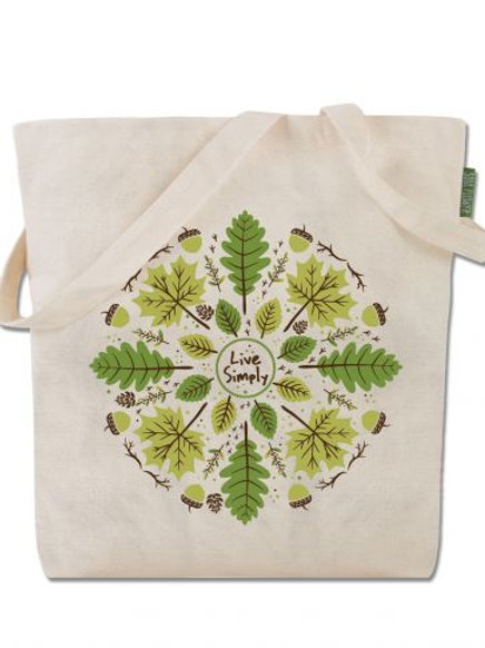 Live Simply - Tote bag - Cotton