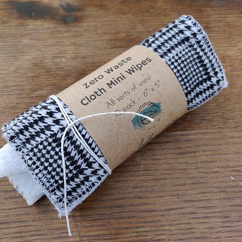 cloth Mini Wipes with bag