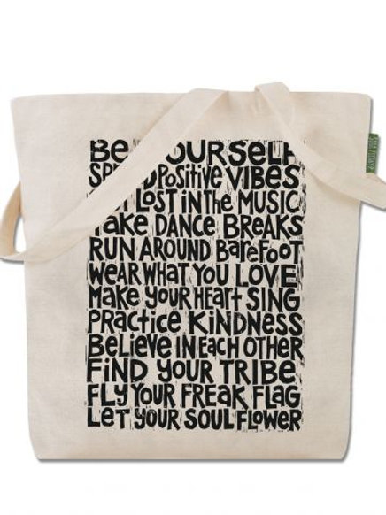 Be Yourself - Cotton Tote Bag