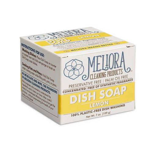 Plastic-Free Dish Soap for Hand Washing - Lemon