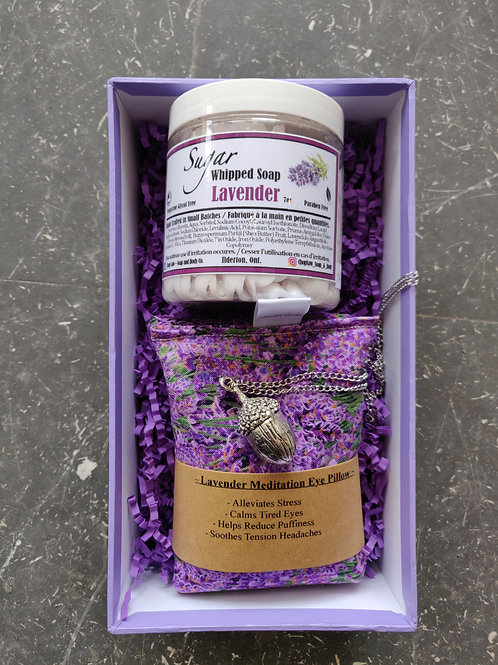 Lavender Mother's Day box