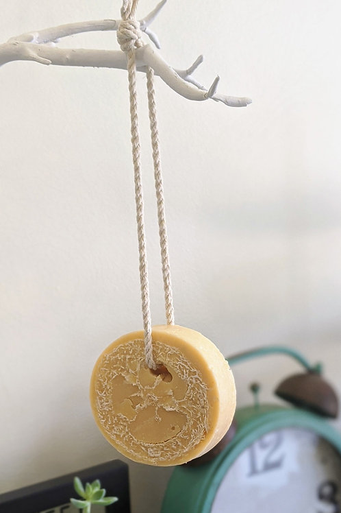 Soap on a Rope Pink Grapefruit