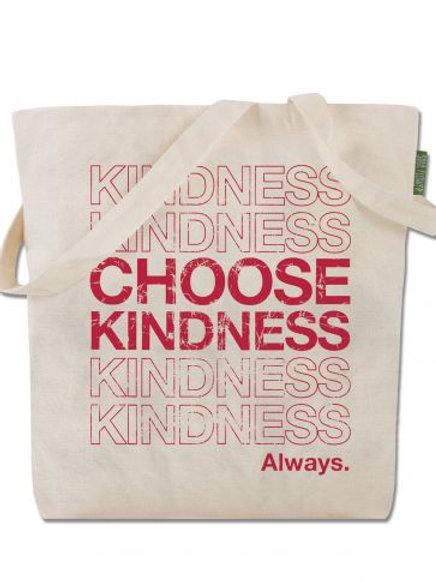 Choose Kindness - Cotton Tote Bag