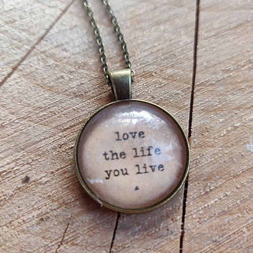 Love Life Pendent