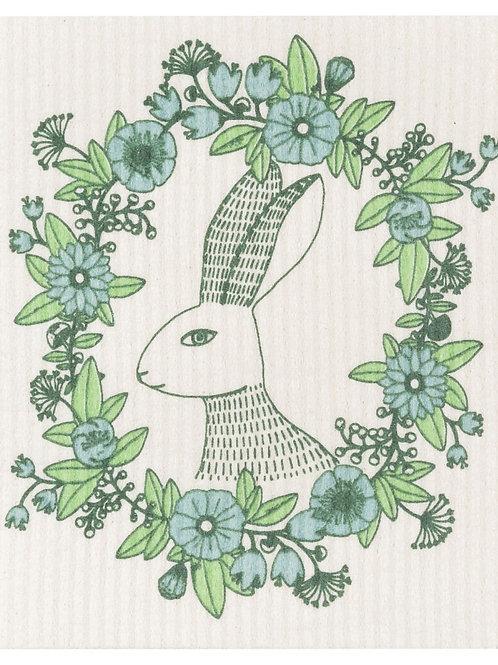 Spring Hop Swedish Dishcloth