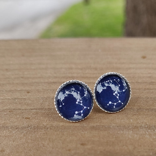 Zodiac Stars Earring Studs