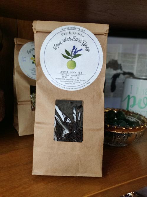 loose tea Leaves - Lavender Ear Grey
