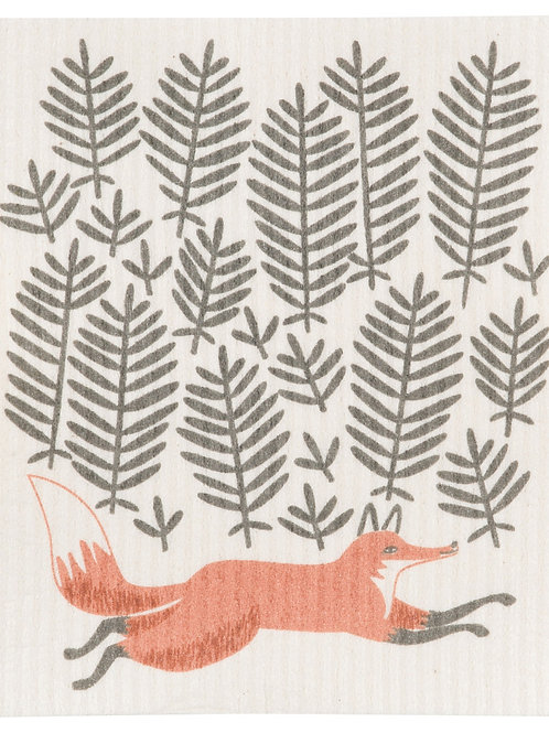 Fox Swedish Dishcloth - Single