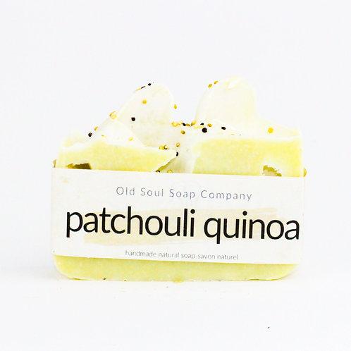 Patchouli Quinoa  Soap Bar