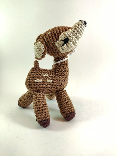 Cheengo - Fawn baby rattle