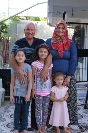 Selim and Zeynep, and their three daughters