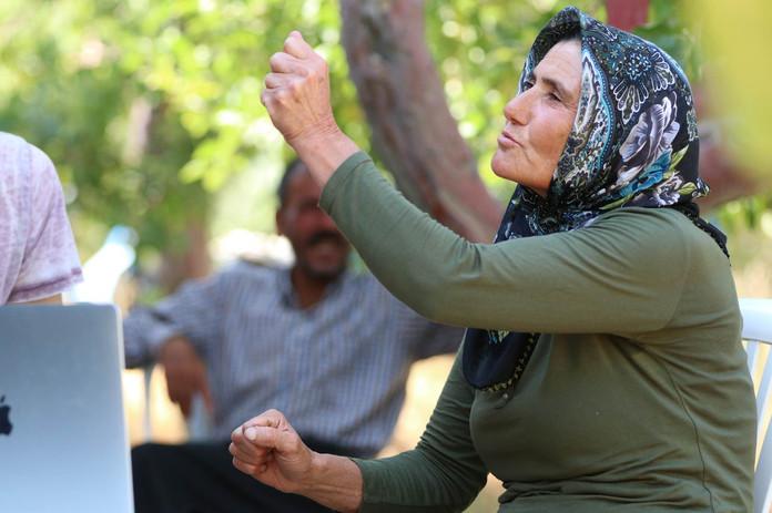 Melek and her husband, Nuri