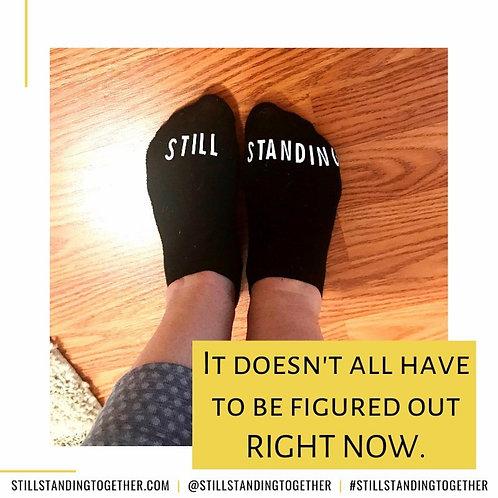Womxn Black Ankle Socks (One Pair)