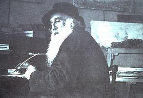 Camille Pissarro, French Impressionist Artist.  Self portrait.