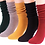 Thumbnail: Multicolored Slouch Socks (One Pair)