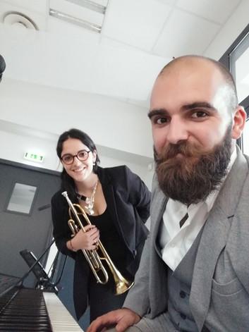 Duo Piano - Trompette/Chat