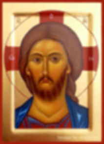 icône visage Christ Jésus sauveur véronique vié visage art de l'icône comprendre prier explication