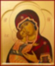comprendre explication prier icône Vierge de tendresse (Vierge de Vladimir) véronique vié art de l'icône