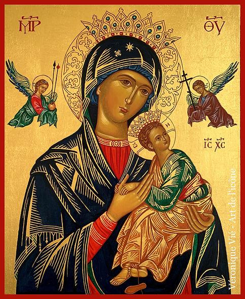 icône Notre Dame du Perpétuel secours Mè