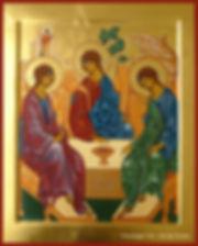prier comprendre explication icône de la Trinité véronique vié art de l'icône