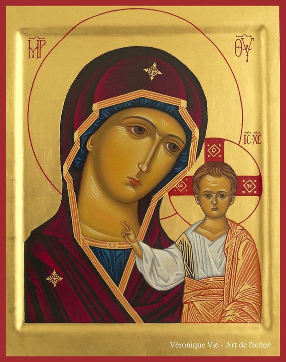 icône de la Mère de Dieu de Kazan Vierge Marie véronique vié prier comprendre explication