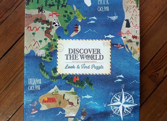 Londji, Discover the World - Puzzle, puzzeln und entdecken
