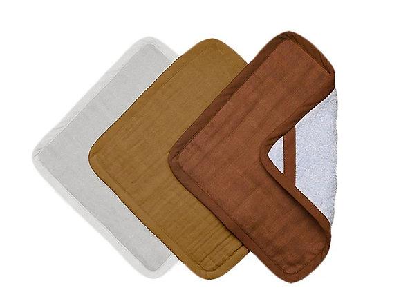 Fabelab, Waschlappen 3er Pack - Wood