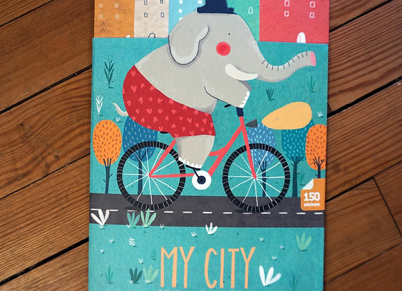 Londji, My City - 150 Sticker