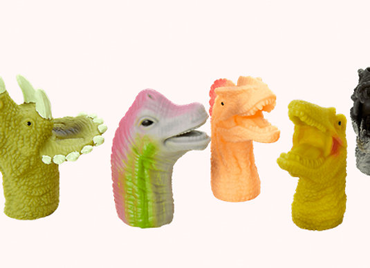 Rice, Fingerfiguren - Dinosaurier