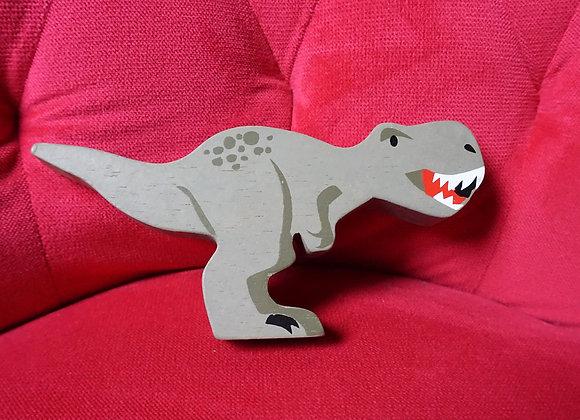 tender leaf toys, Holztier - Tyrannosaurus Rex