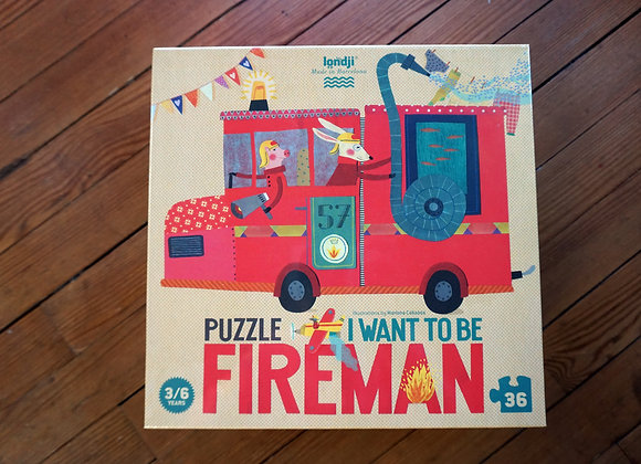Londji, I want to be Fireman - Puzzle