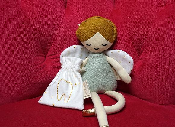 Fabelab, Puppe Zahnfee mit Beutelchen