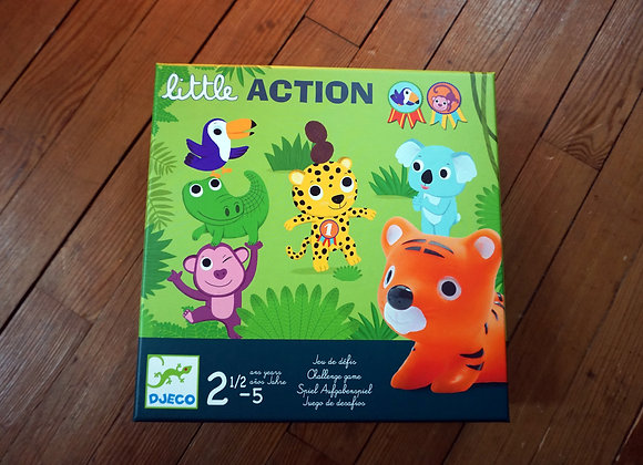 Djeco, little ACTION - Aufgabenspiel