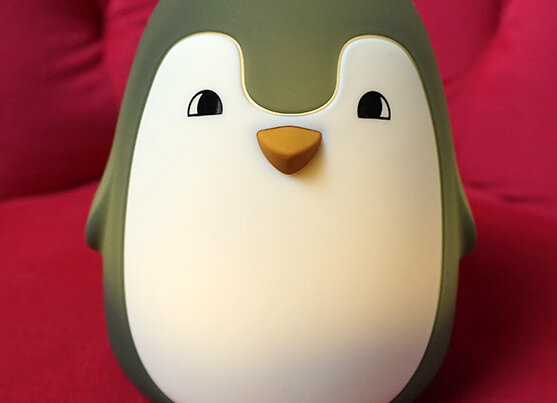 Liewood, Ditlev Nachtlicht - Pinguin, Hunter Green