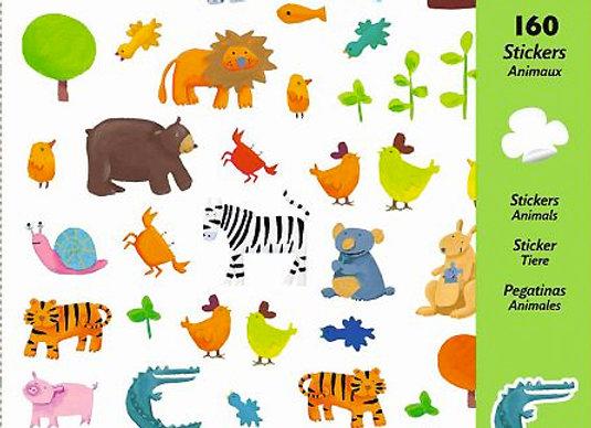 Djeco, Sticker - Tiere