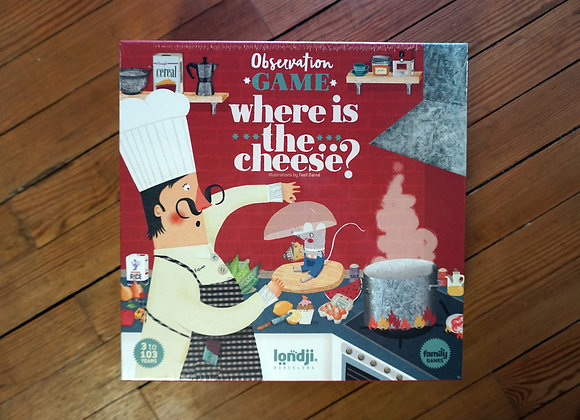Londji, Where is the... Cheese? - Observation Game