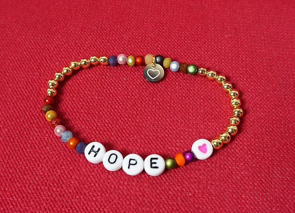 lua accessories, be my hope Armband