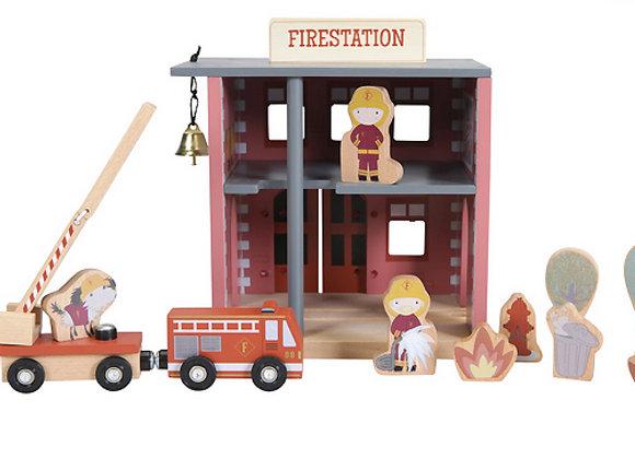 Little Dutch, Feuerwehrhaus