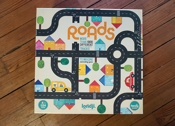 Londji, Roads. More than 1000 different tracks to imagine - Connecting Game