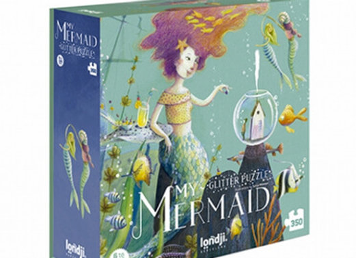 Londji, My Mermaid - Glitter Puzzle