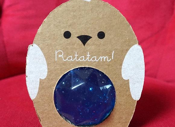 Ratatam, Huhn Gummi Ball - Blau