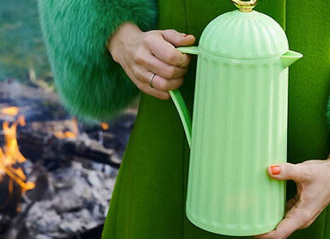 Rice, Melamin Thermoskanne - Pastellgrün