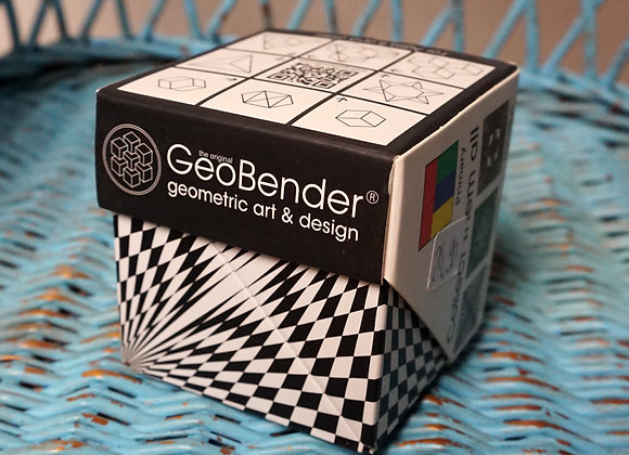 GeoBender, Magnetic Transforming Cube - Abstract-2