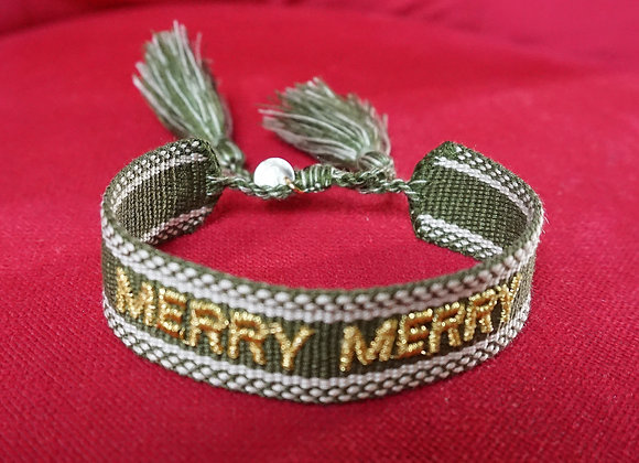 lua accessories, merry merry Armband