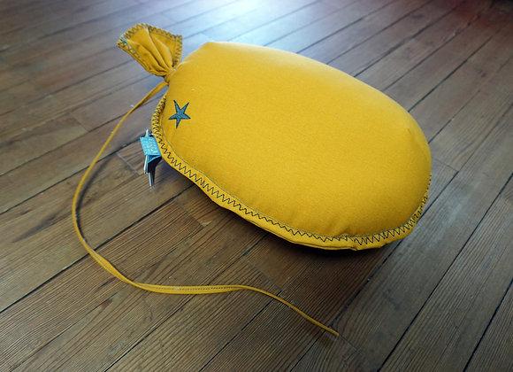 Picca Loulou, Ballon, ockerfarben - Wanddekoration / Kissen