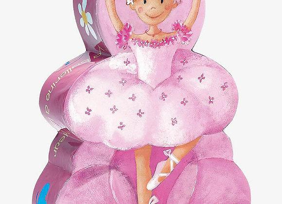 Djeco, Puzzle - Die Ballerina und die Blume